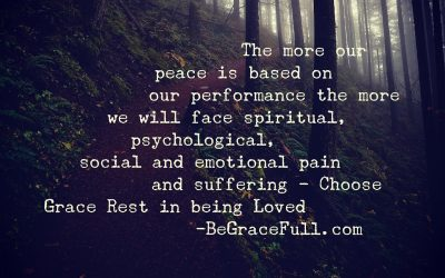 On What is Your Peace Based?