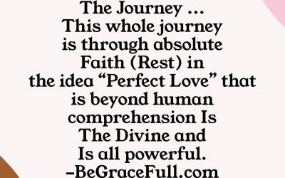 The Journey… Perfect Love